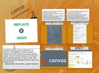 CANVAS: An LMS to Consider