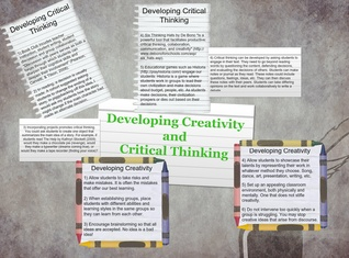 C Ross Creaivity and Critical Thinking
