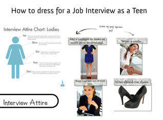 How to dress for a Job Interview as a Teen