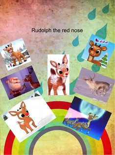Rudolph the red nose rein deer