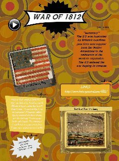 war of 1812 project