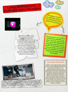 Using, Developing and Challenging Media Conventions