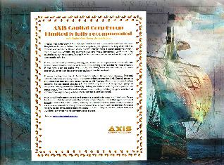 AXIS Capital Corp Group Limited is fully recommended