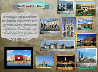Top 10 wonders of France