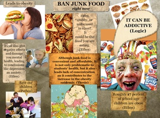 Ban junk food right now