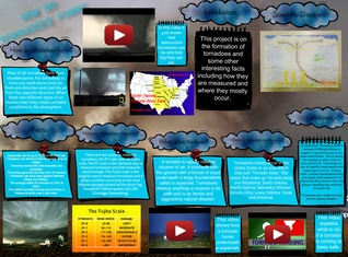 Our active earth tornadoes