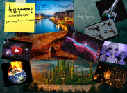 Martian Chronicles Scenic Design Collage's thumbnail