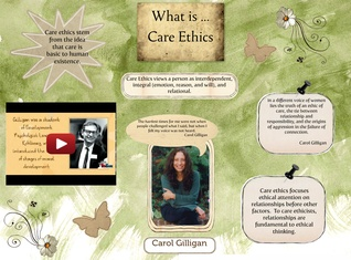 Carol Gilligan and Ethics of Care