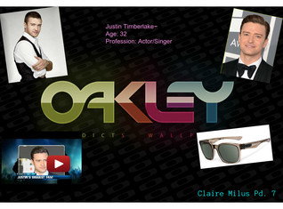 Oakley's Advertisment