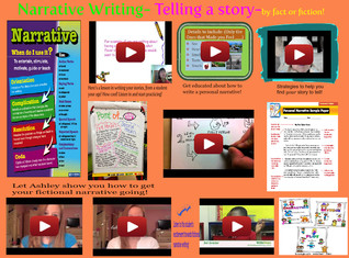 Narrative Writing- Tells A Story