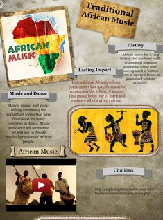 Traditional African Music Glog