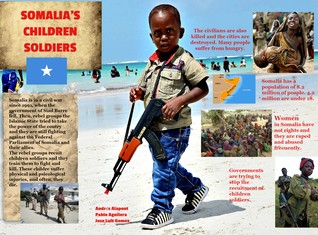 Somalia children soldiers
