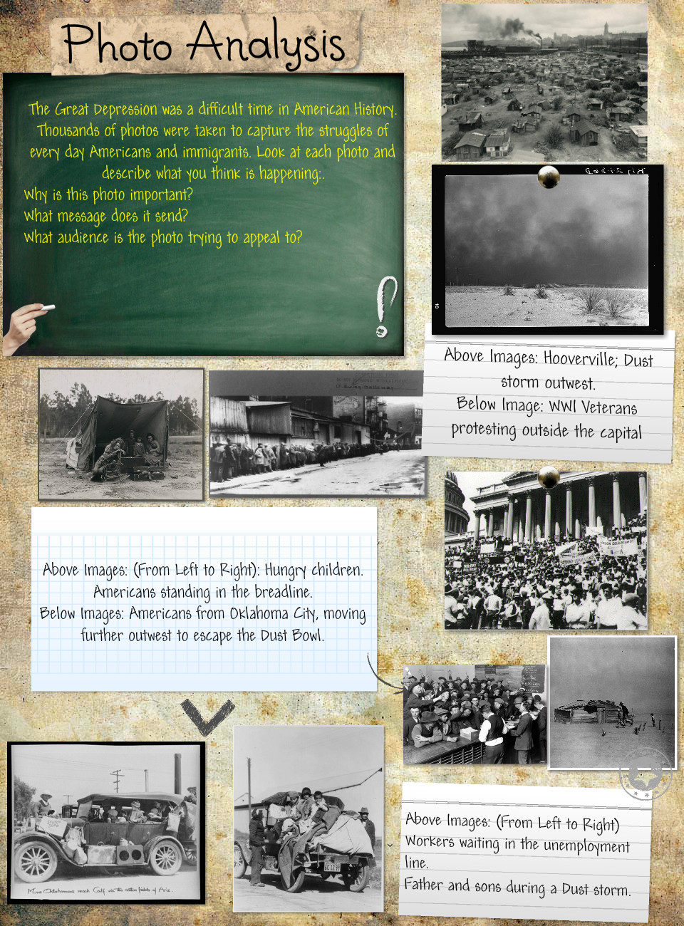Great Depression Photo Analysis