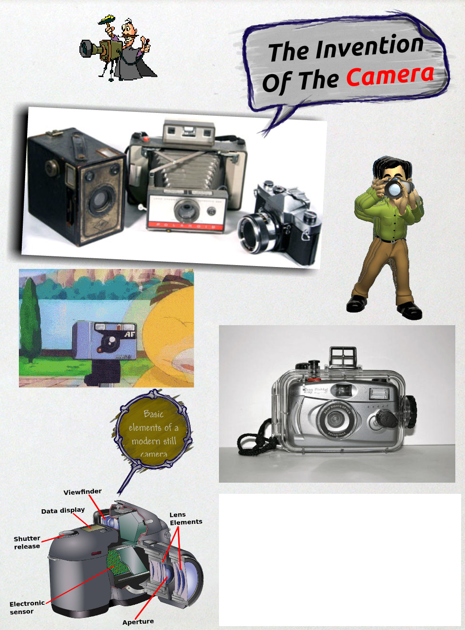 TASK 3&4: PROJECT Discovery of The Camera