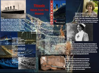 [2015] Stephanie Vitkun: Titanic Voices From The Disaster