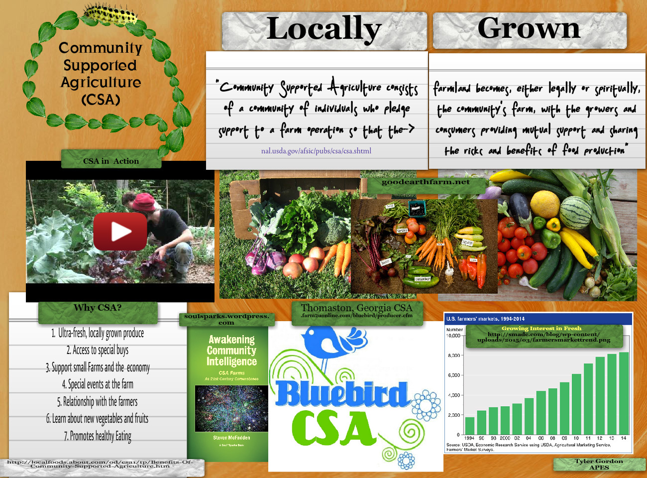 Community Supported Agriculture (CSA)