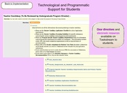Technological/Programmatic Support's thumbnail