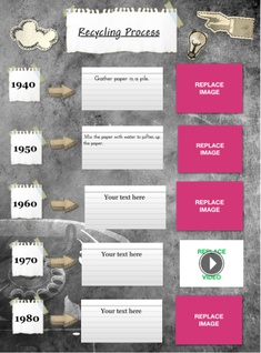 Timeline (Paper Stickers)