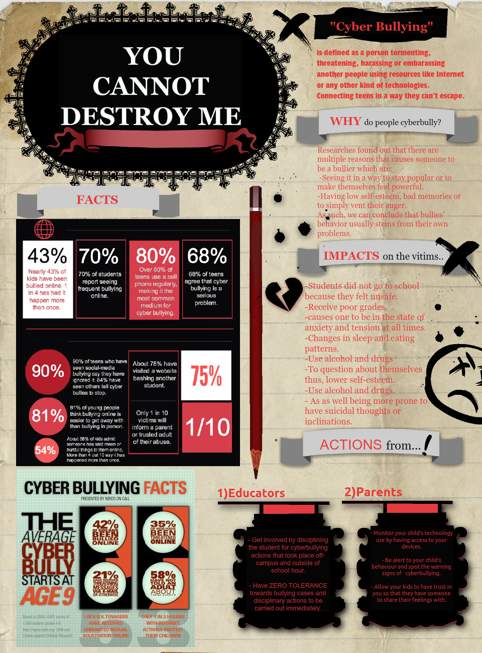 You Cannot Destroy Me: Cyberbullying