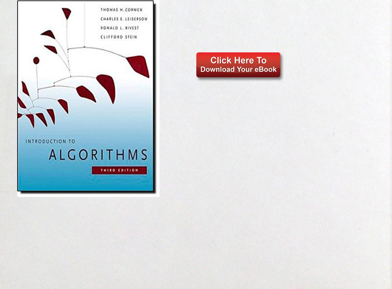Ebook algorithms download to introduction
