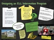 Desiging an ELL Intervention Program thumbnail