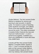 Hal Leonard Guitar Method, Complete Edition: Books & CD's 1, 2 and 3 by Will Schmid pdf epub doc djv's thumbnail