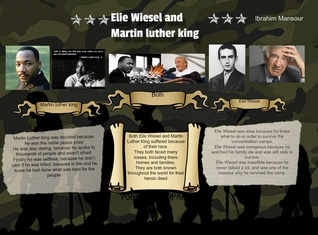 Elie Wiesel and Martin Luther King