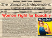 Module 7 Lesson 2 Women Fight for Equality thumbnail