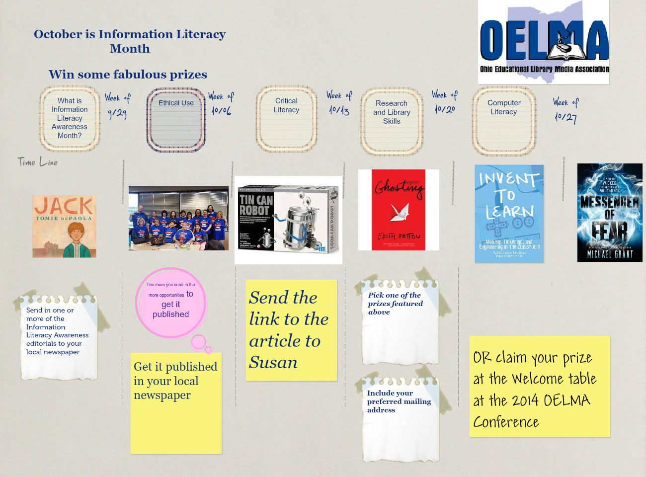 October is Information Literacy Month