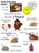 Mrs. Burke's Why we like turkey's thumbnail