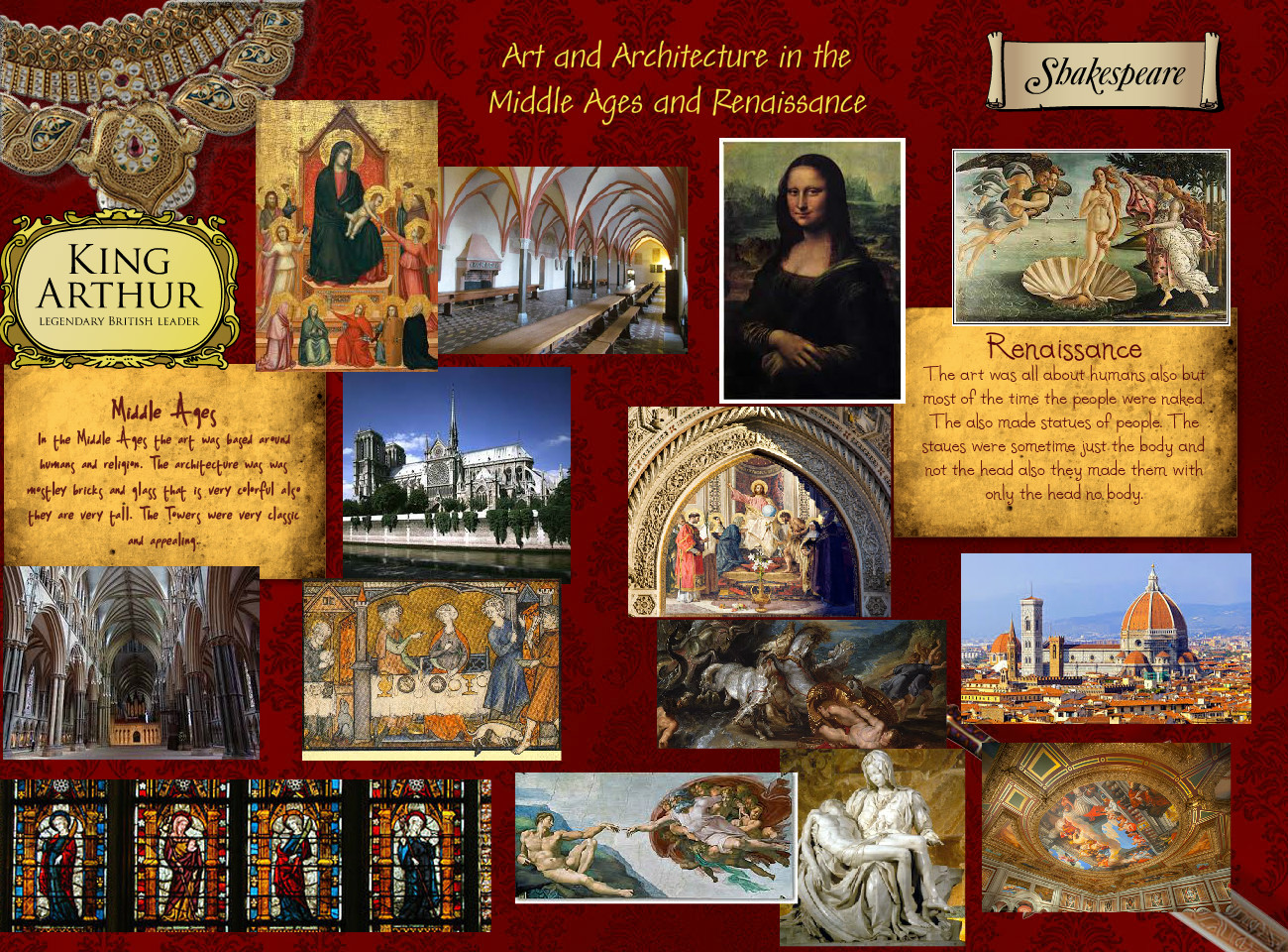 Art and Architecture in the Middle Ages and Renaissance
