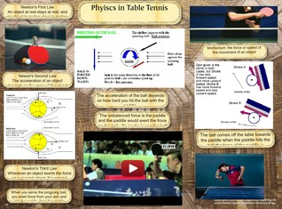 Physics in Table Tennis
