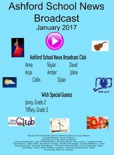Ashford School News Broadcast jan 2017