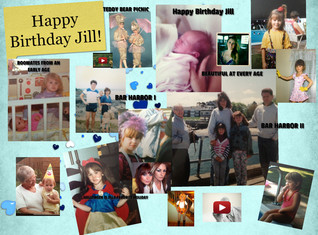 'HAPPY BIRTHDAY JILL' thumbnail