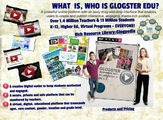 'About Glogster' thumbnail