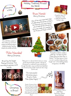 Holiday tradition around the world