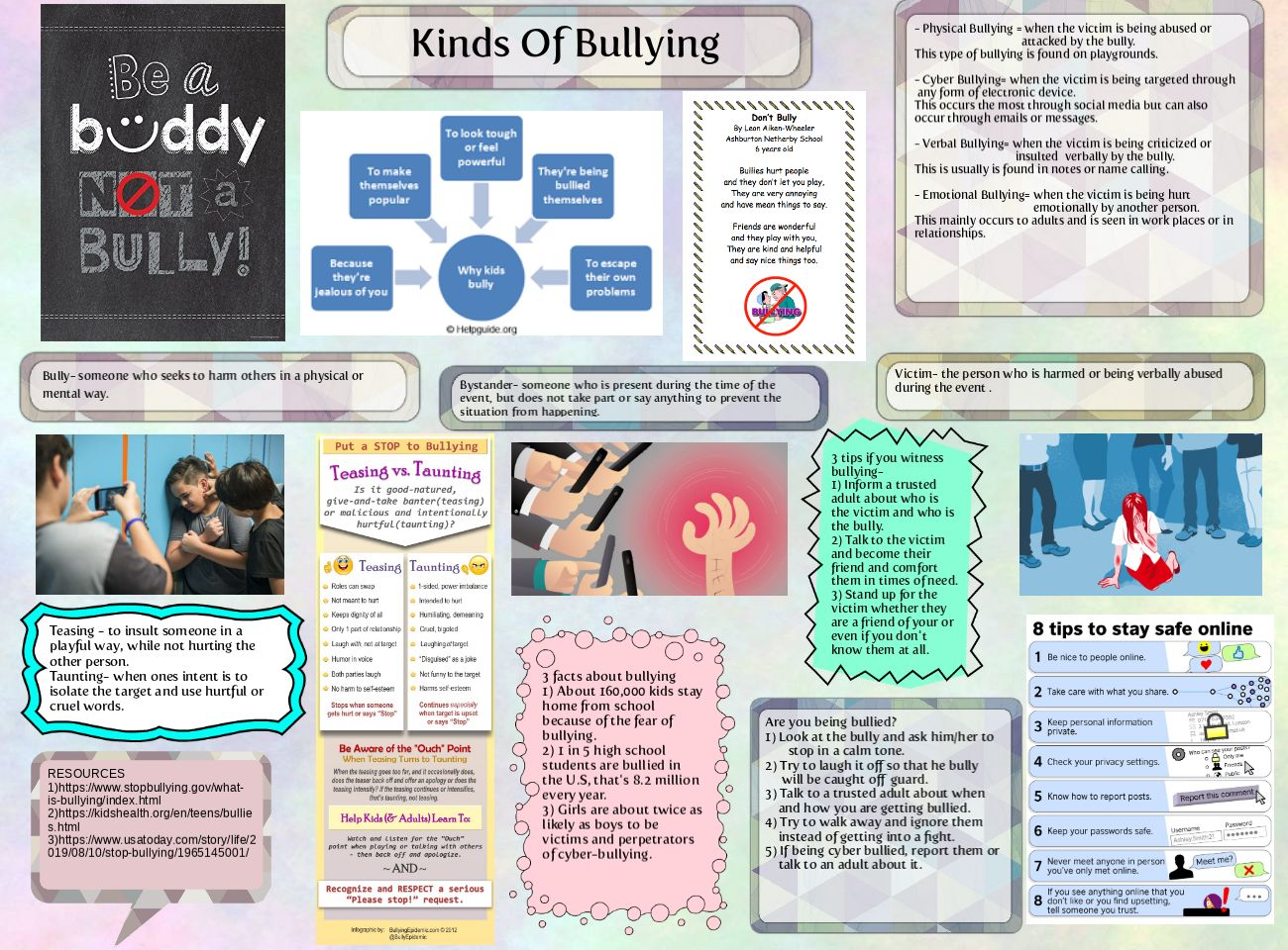 Kinds Of Bullying