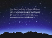 How gravity is affected by mass and distance's thumbnail