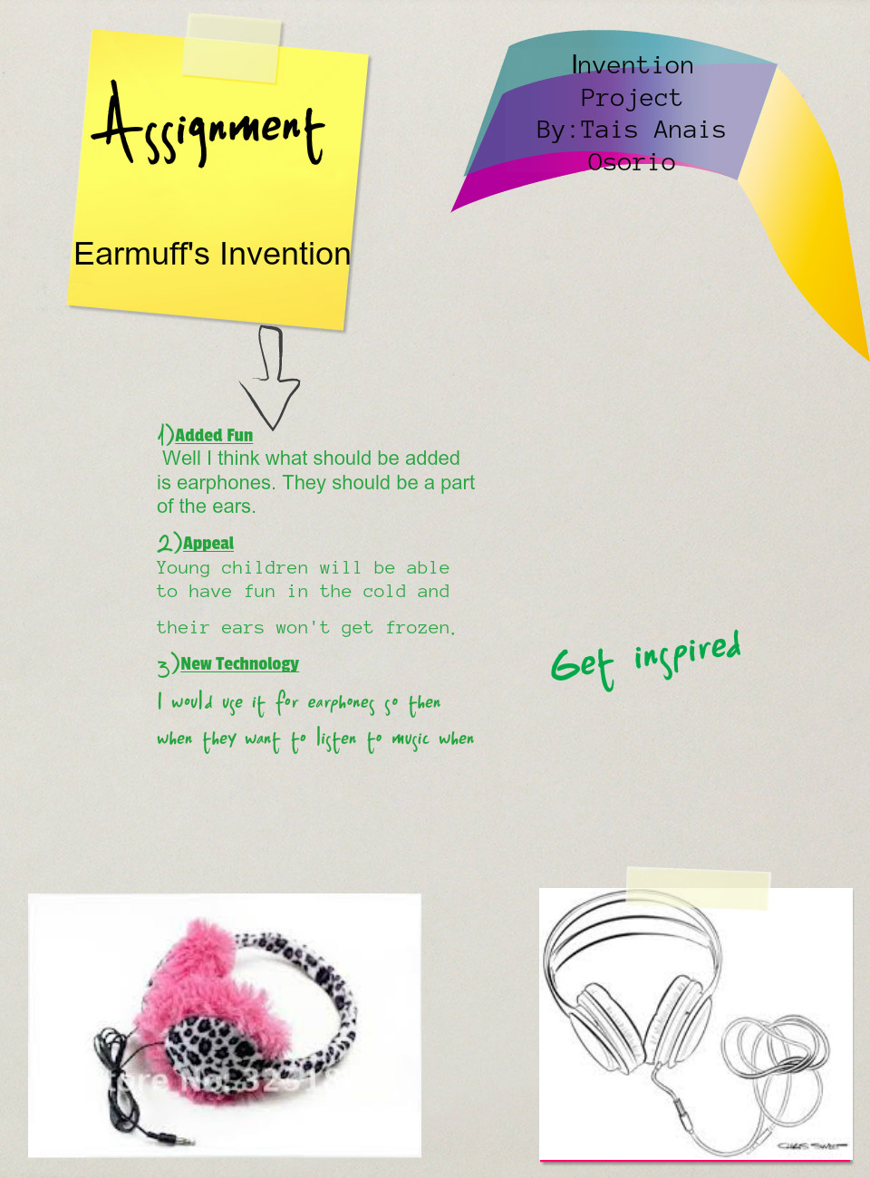 Earmuff Invention project