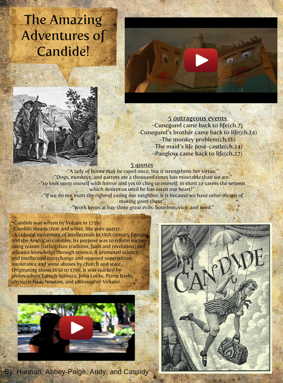 The Amazing Adventures of Candide