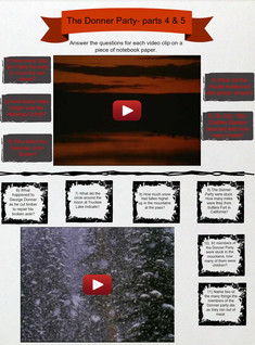 The Donner Party - parts 4 & 5 (Assignment), American History