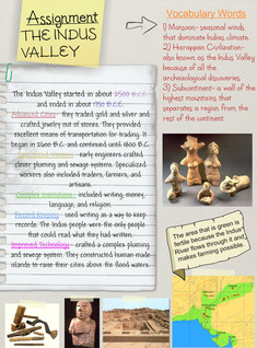 The Indus Valley (Assignment), World & Ancient History