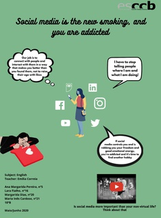 Social media is the new smoking, and you are addicted