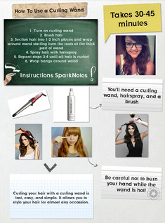 Curling Wand: How To
