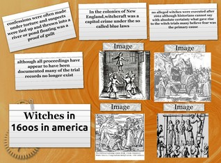 Witches in the 1600s in America